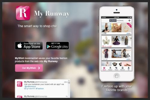 My Runway App - Screenshot