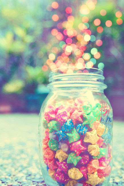 a jar full of light on We Heart It.