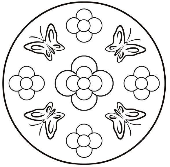 Mandalas De Primavera Para Imprimir