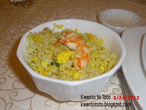 King Bee Chinese Restaurant Bloggers Food Tasting Event Yang Chow Fried Rice