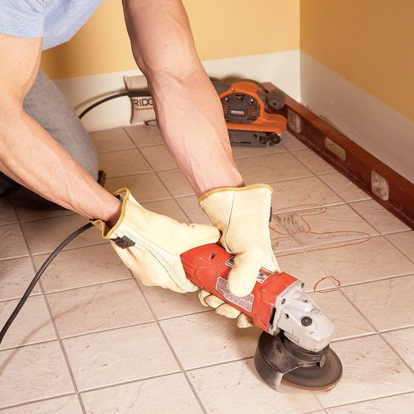 Tile Installation: How to Tile Over Existing Tile | The ...