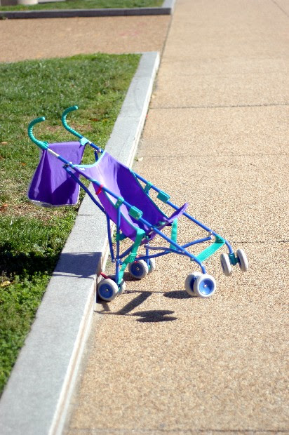 Optical Illusion Stroller