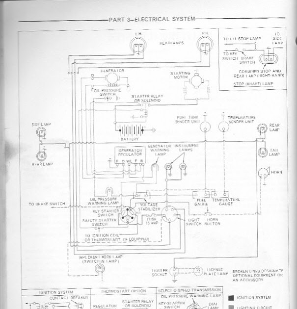 Ford 3000 Ga Tractor Wiring Diagram