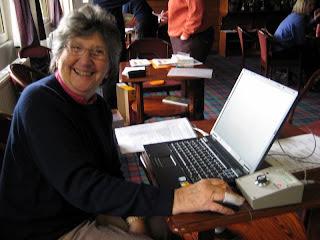 Freda Tuck --- Results Secretary calculates the CSS
