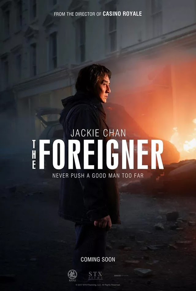 THE FOREIGNER Emerges In The First Official U.S. Poster