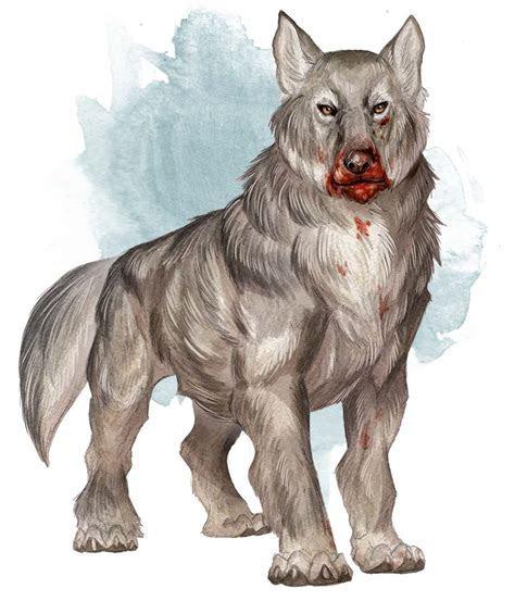 Dire Wolf 5e » Dungeons & Dragons   D&D 5