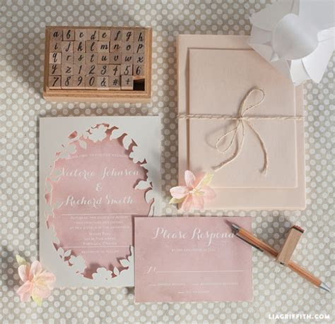Printable Wedding Invitations by lia griffith   Project