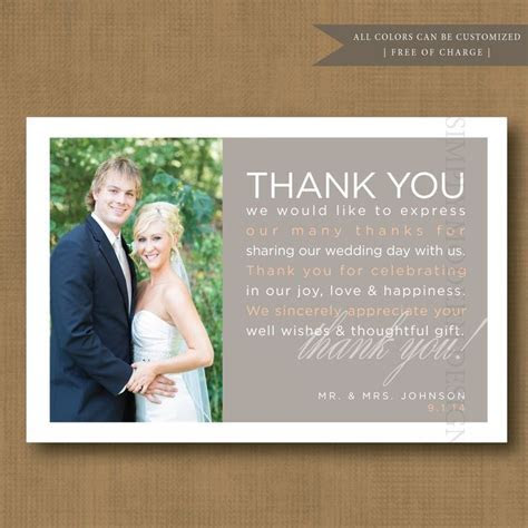 25  best ideas about Wedding Thank You Wording on