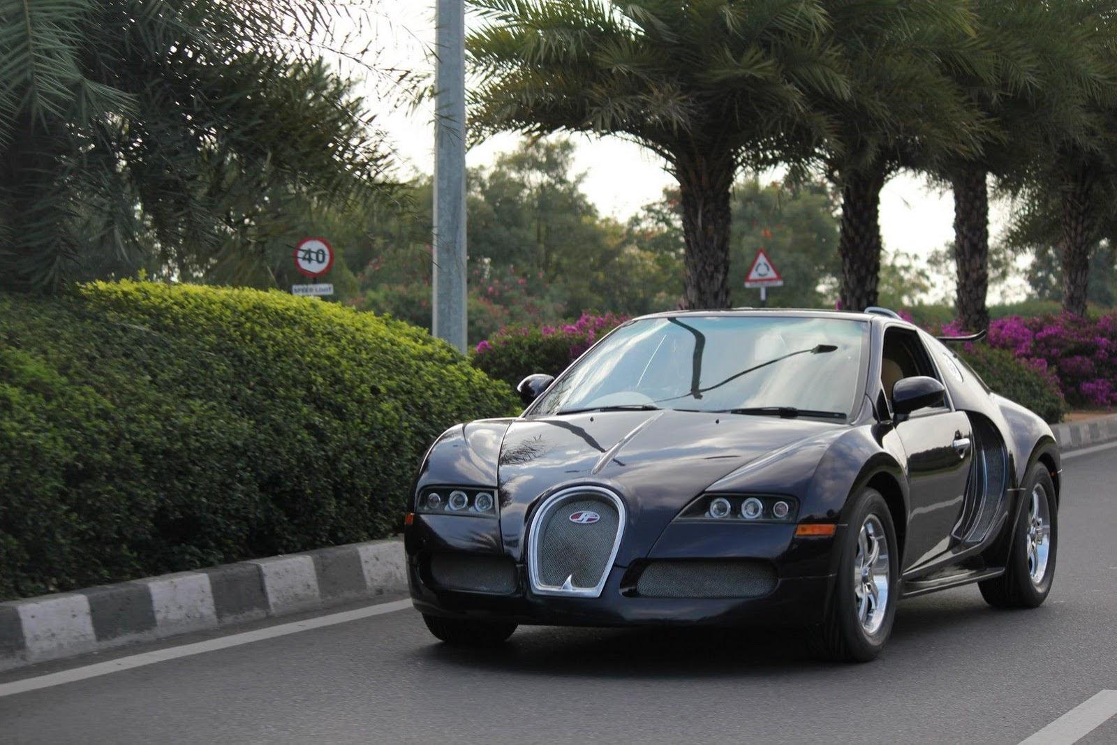 Can't Afford a Bugatti Veyron? How About a Suzuki-Based Replica? - autoevolution