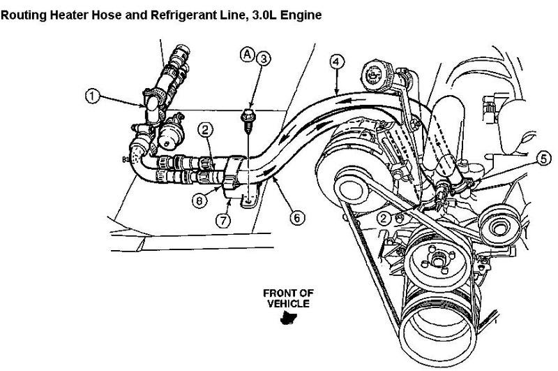 Aerostar Heater Hose Diagram