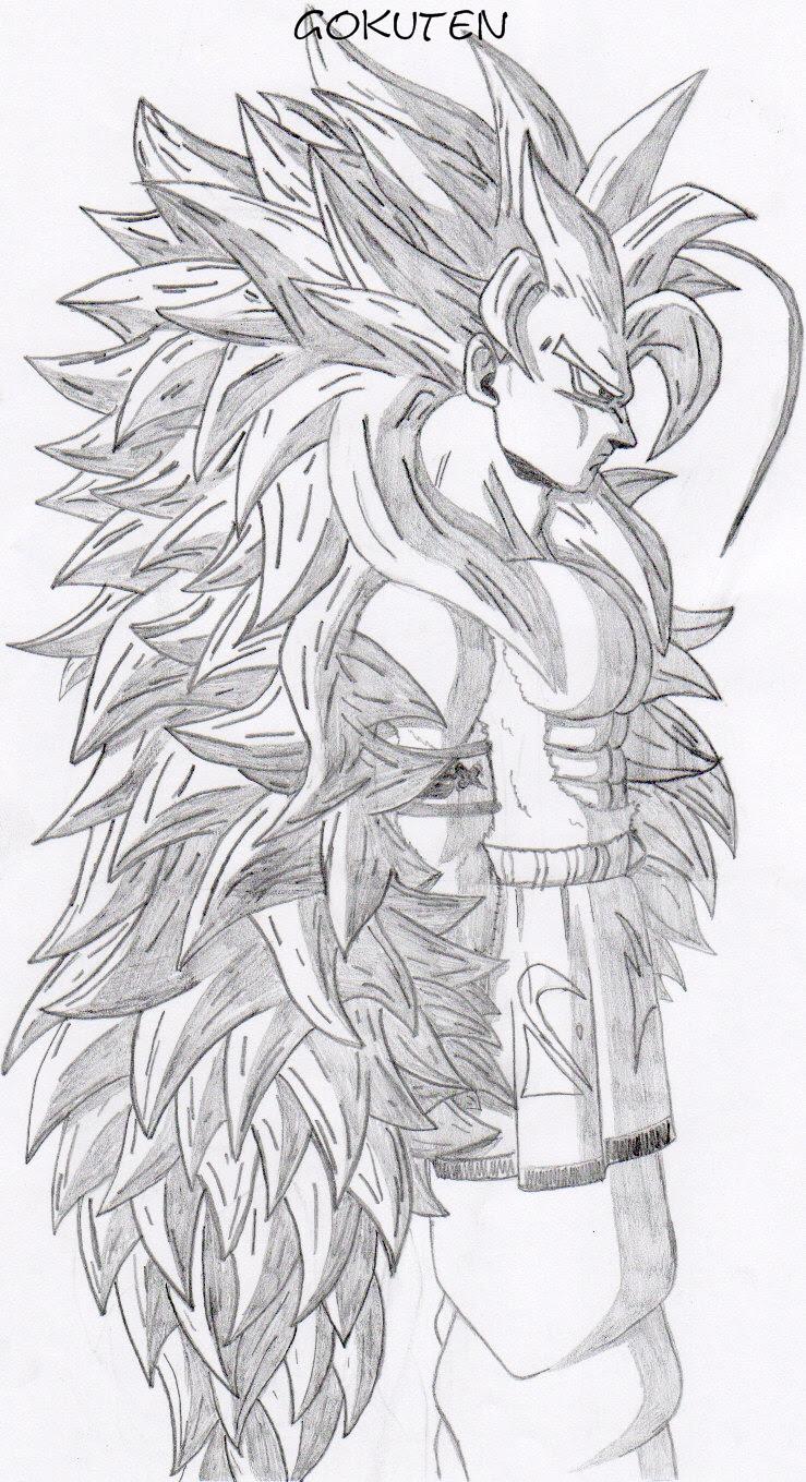 Coloriage De Manga Dragon Ball Z Dessin Sangoku Dessin Sangoku