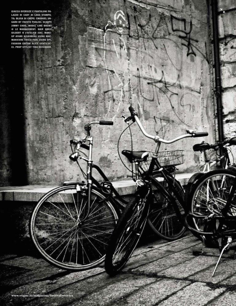 Line Brems 'An Unconventional Mood' Ellen Von Unwerth For Vogue Italia 4