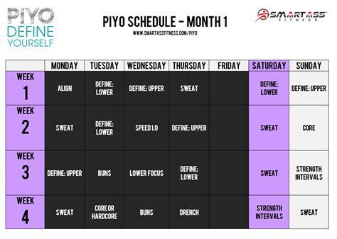 piyo workout review smart ass fitness