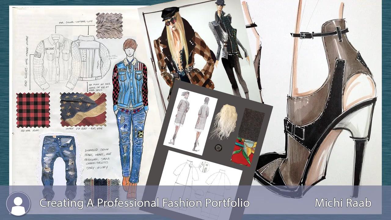 Fashion School Portfolio Example School Style