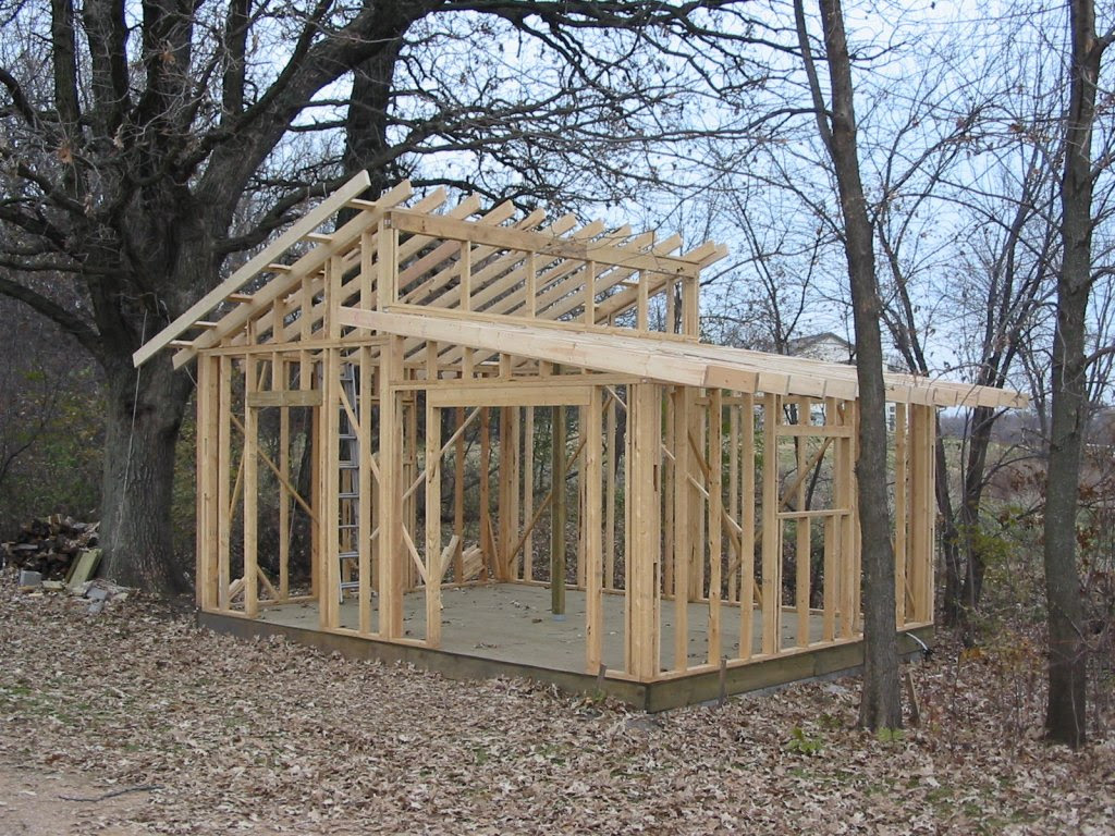 2017 8x10 Shed Construction