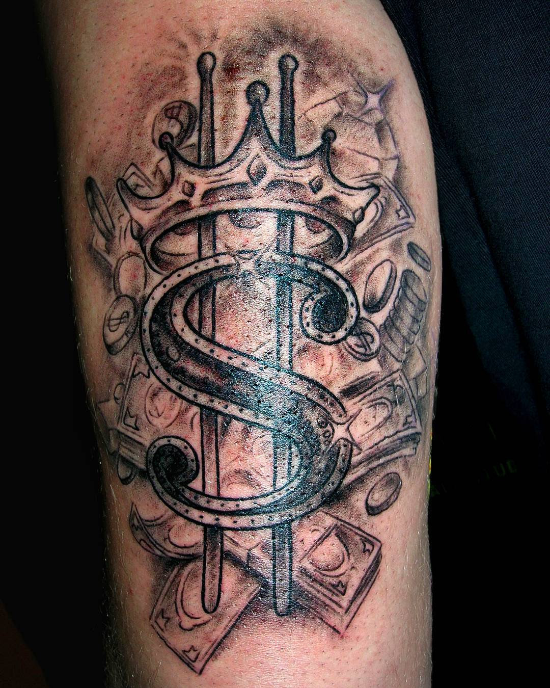 75 Best Money Tattoo Designs Meanings Get It All 2018