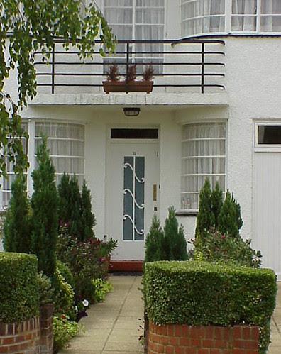 Doorway, Lytton Close