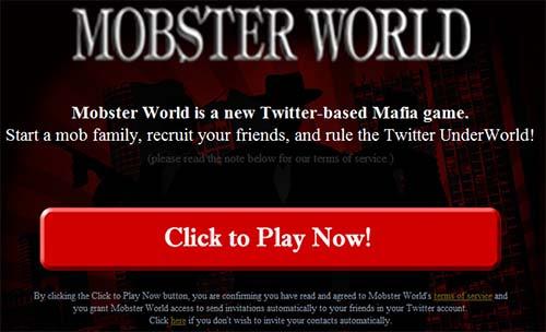Twitter Spammer Mafia Family