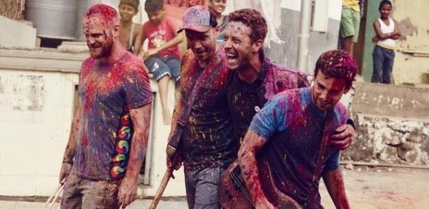 A banda britânica Coldplay fará dois shows no Brasil