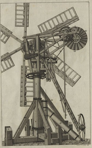 18th century wind turbine