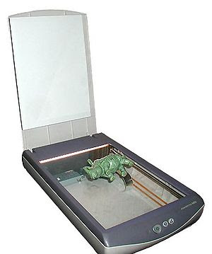 Flat-bed Scanner.