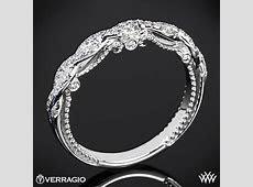 Verragio INS 7074W Beaded Twist Diamond Wedding Ring   2892