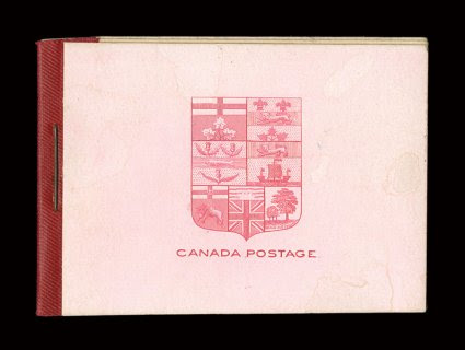 Unitrade BK1, 1900 Booklet of two panes of 77b, unexploded booklet, with both panes quite fresh, o.g., n.h., a very fine example of not only the first Canadian booklet, but also the first ever booklet of the entire British Commonwealth.
