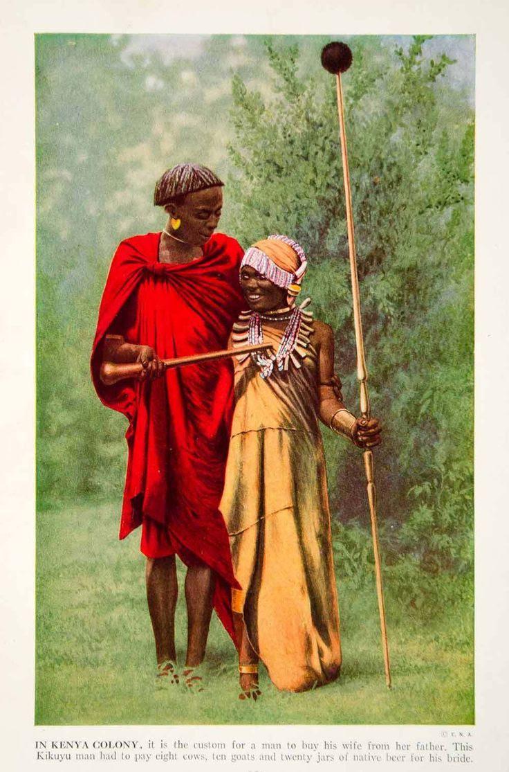 Kikuyu Bride and Groom Kenya