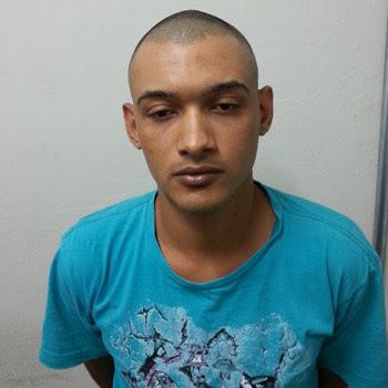 Homem é suspeito de praticar diversos crimes em Ipatinga. Ele tentou resistir à prisão (Polícia Civil / Divulgação)