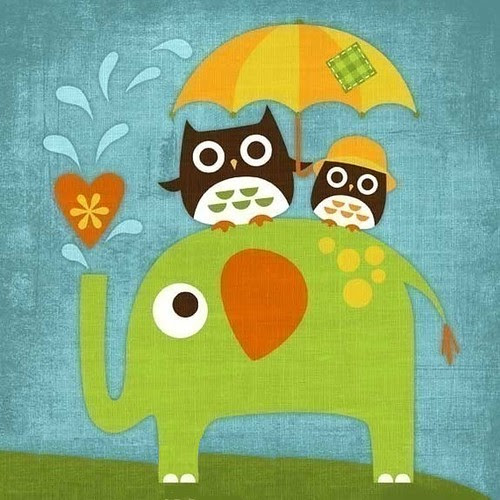 ...um sábado de chuva e verdinho... by Menina Prendada -