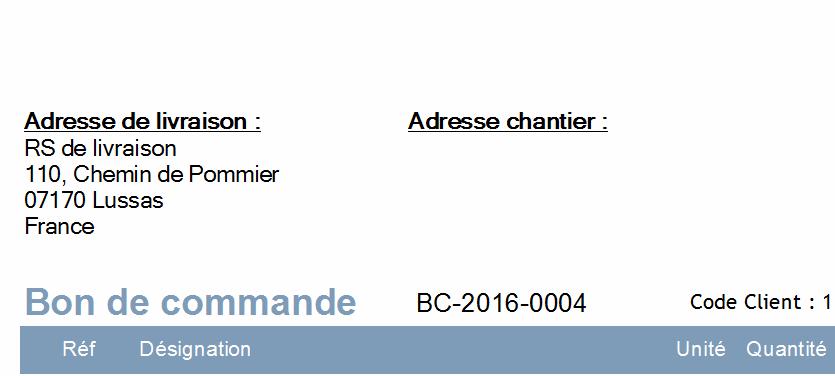 Exemple De Bon De Commande Rempli - Le Meilleur Exemple