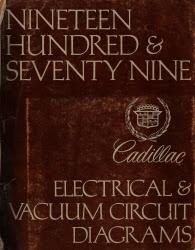 1979 Cadillac Deville, Eldorado & Seville Elecrical ...
