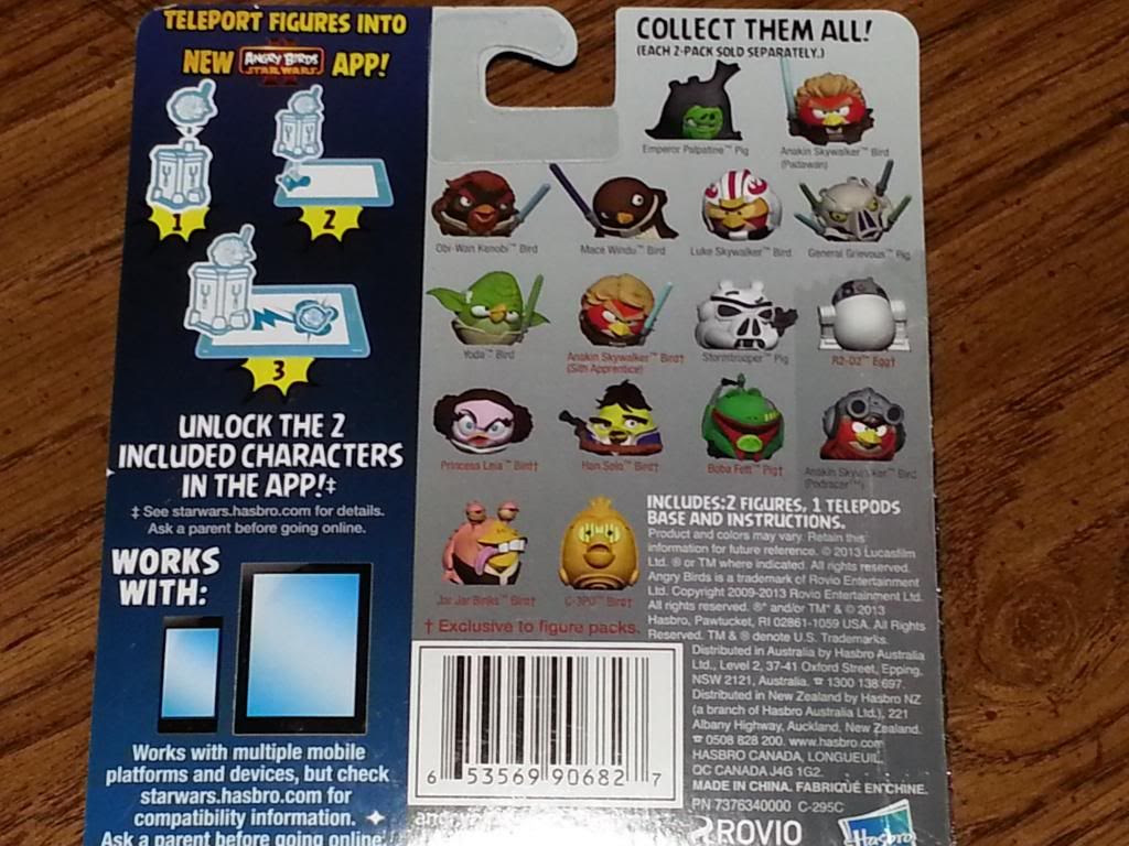 Z's Place: Angry Birds Star Wars Telepods Review ...  Z's Place: ...
