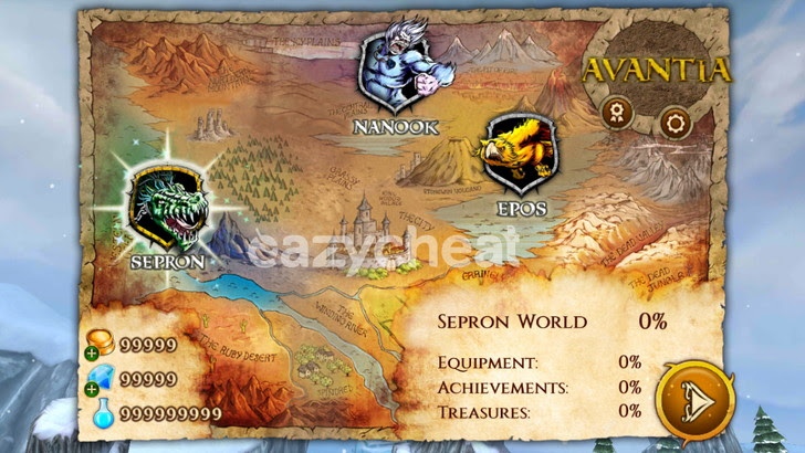 Beast Quest v1.2.1 Cheats