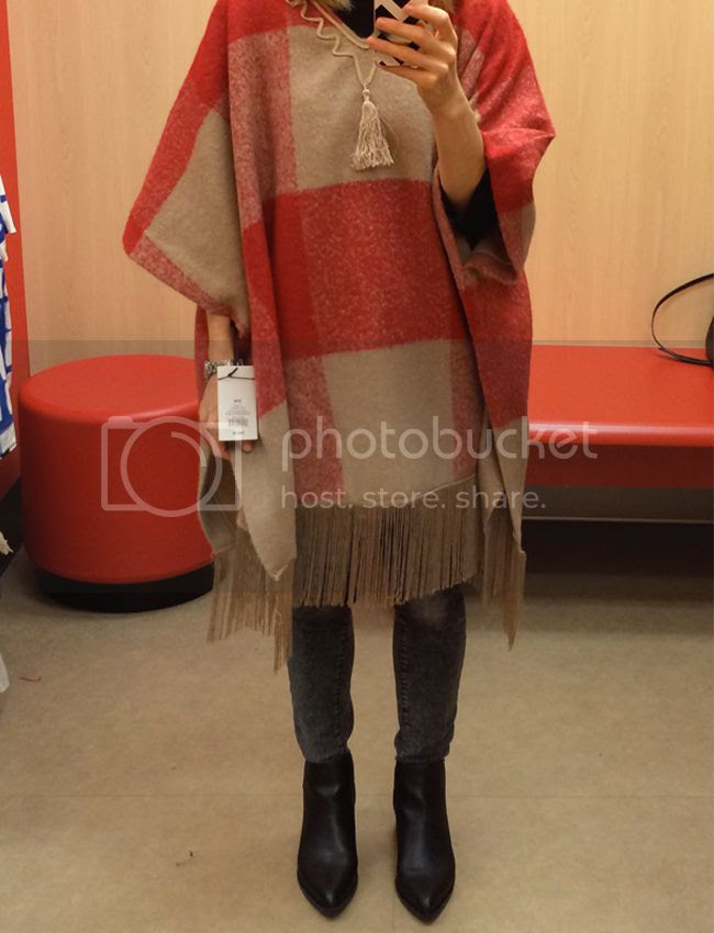 AdamL ippes for Target Fringe Poncho