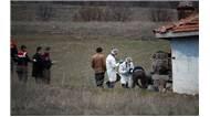 Kırşehir'in Akpınar ilçesinde parçalanmış ve yanmış halde bir erkek cesedi bulundu.