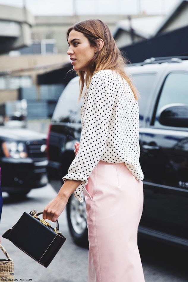 Le Fashion Blog Mark Cross Grace Box Bag Affordable Alternative Street Style Alexa Chung Polka Dot Shirt Pink Skirt Collage Vintage photo Le-Fashion-Blog-Mark-Cross-Grace-Box-Bag-Affordable-Alternative-Street-Style-Alexa-Chung-Polka-Dot-Shirt-Pink-Skirt-Collage-Vintage.jpg