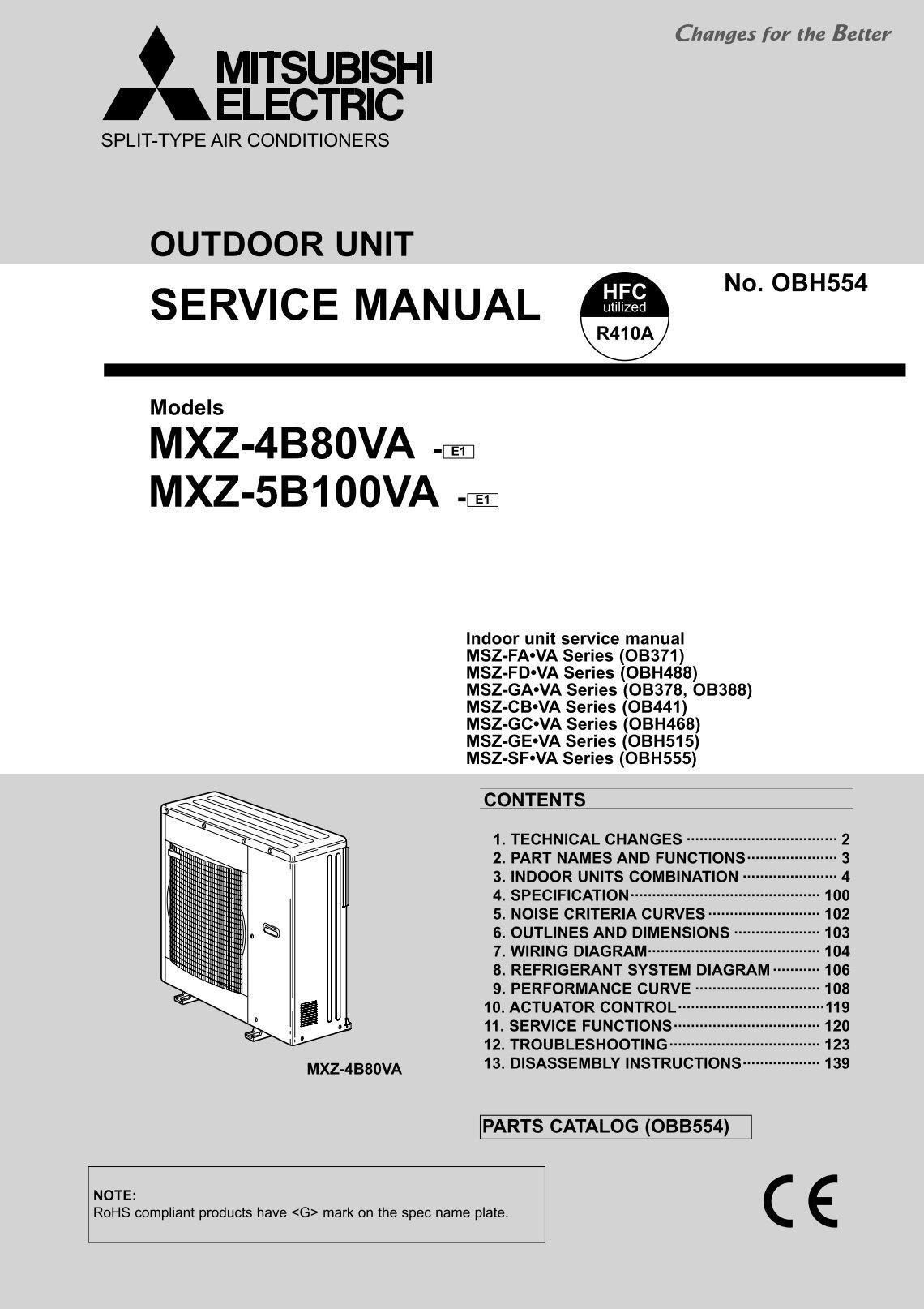 Mitsubishi Electrical Wiring Diagram