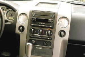 2007 Ford F-150 Audio Wiring Radio Diagram Schematic Colors