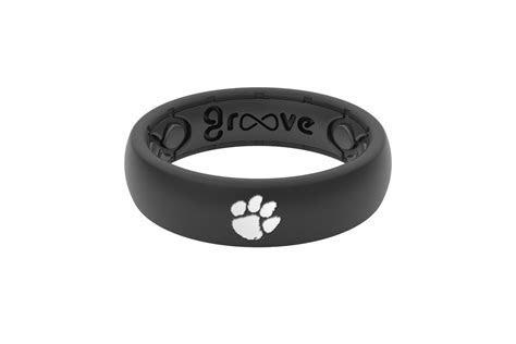 Clemson Silicone Wedding Ring   Lifetime Warranty   Groove