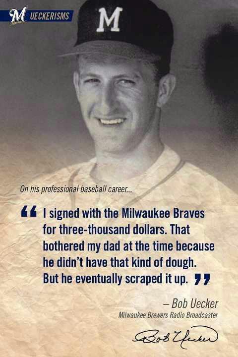 Wisdom Of Bob Uecker Baseball