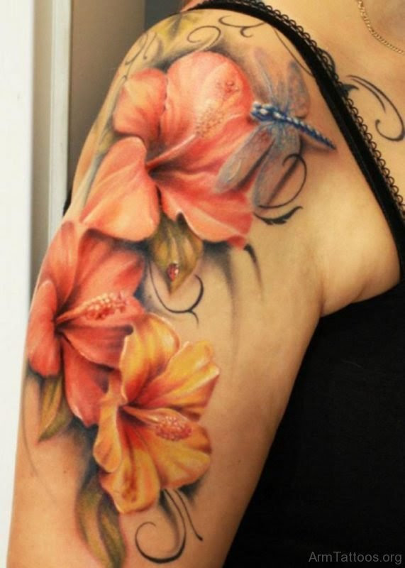 71 Beautiful Lily Flower Tattoos On Arm