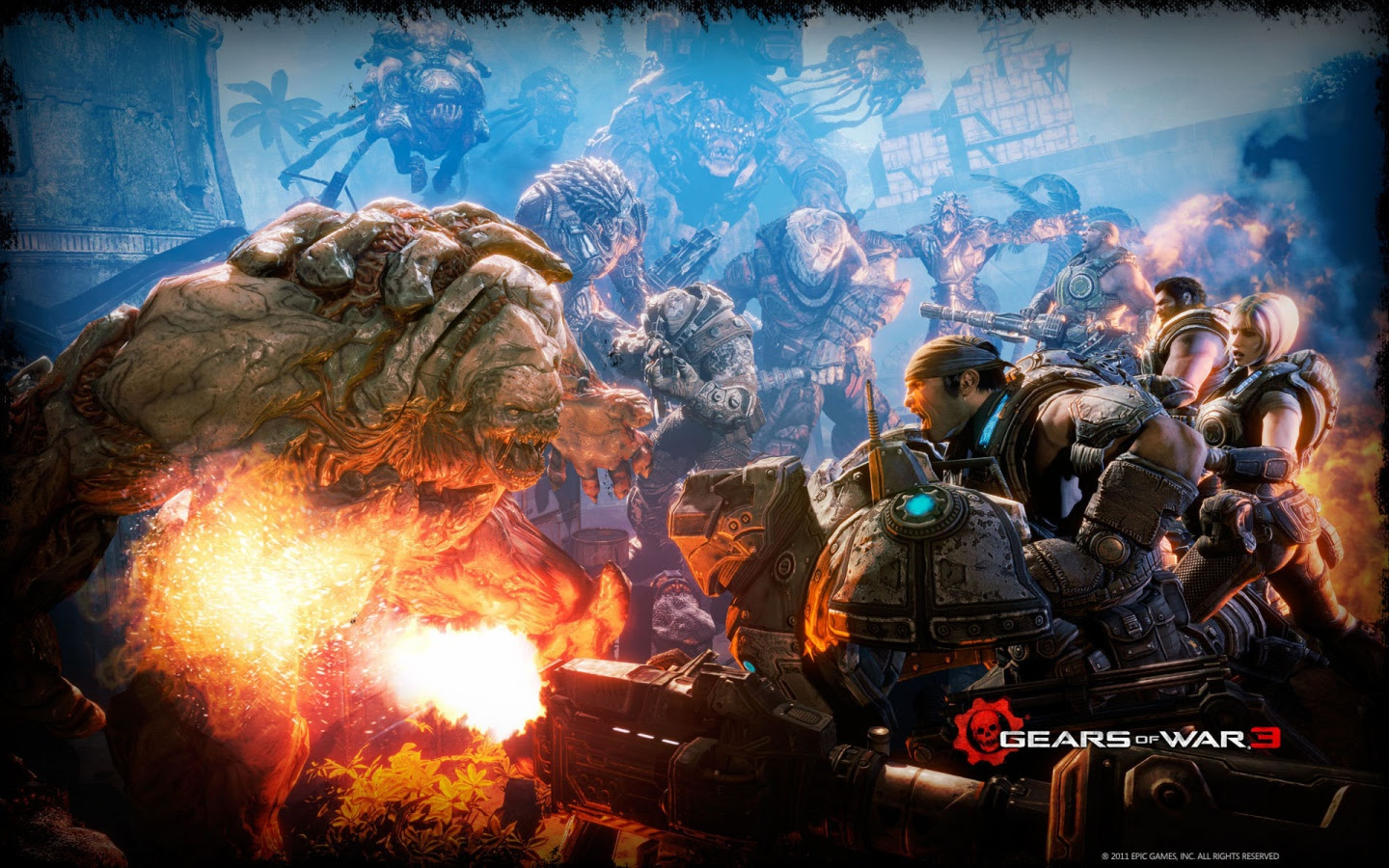 Gears Of War 3 Battle Wallpapers In Jpg Format For Free Download