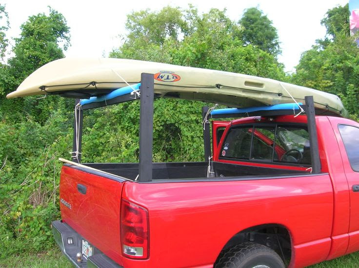 Topic How To Build A Canoe Rack For A Pickup Truck Using
