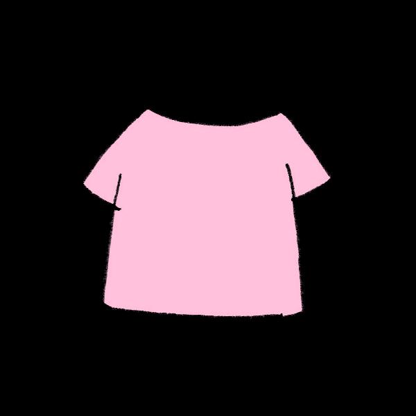 Tシャツのイラスト かわいいフリー素材が無料のイラストレイン