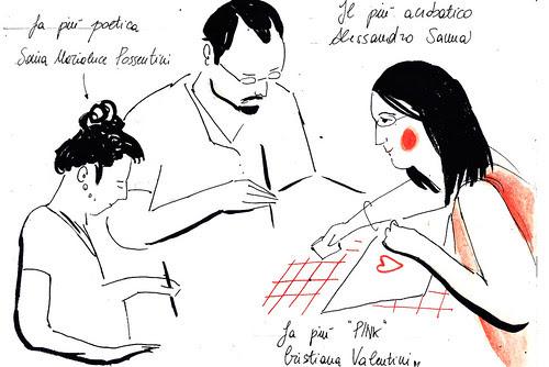 Picnic Festival Sketchbook by la casa a pois