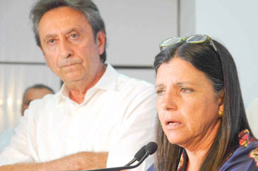 Ricardo Murad ao lado de Roseana Sarney