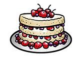 desenho, relacionamento e bolos, que bolo é o seu relacionamento?, naked cake, bolo
