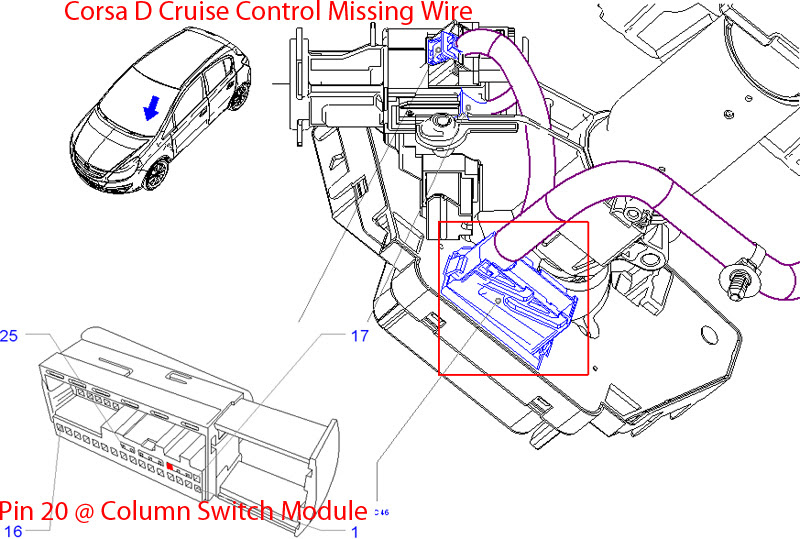 Opel Cruise Control Diagram