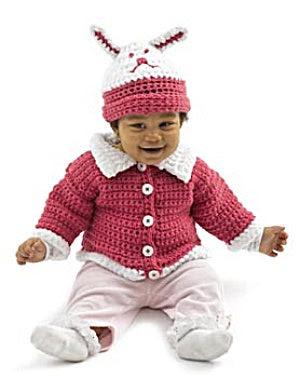 Crochet Cute as a Bunny Set